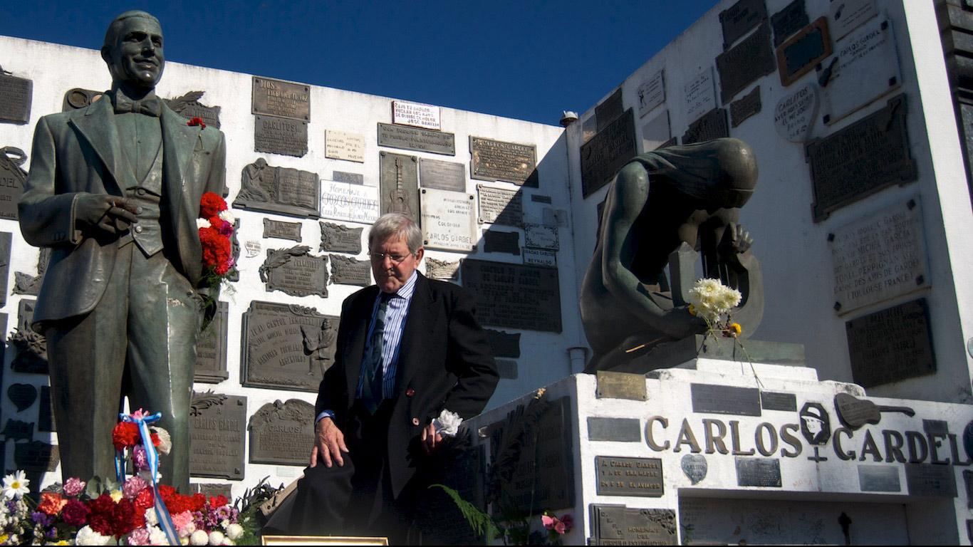 Carlos Gardel tomb