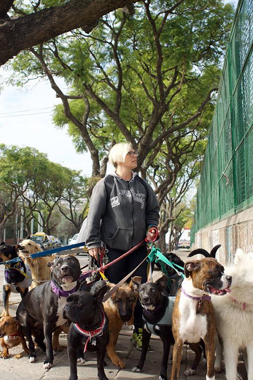 Dogwalker for WomenKind Magazine