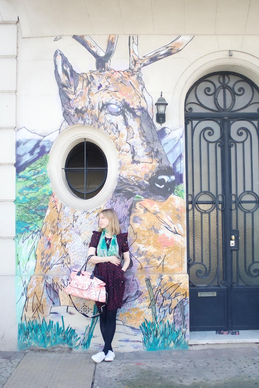 Helen-Coyle-Portrait-with-Deer-Street-Art-by-Beatrice-Murch