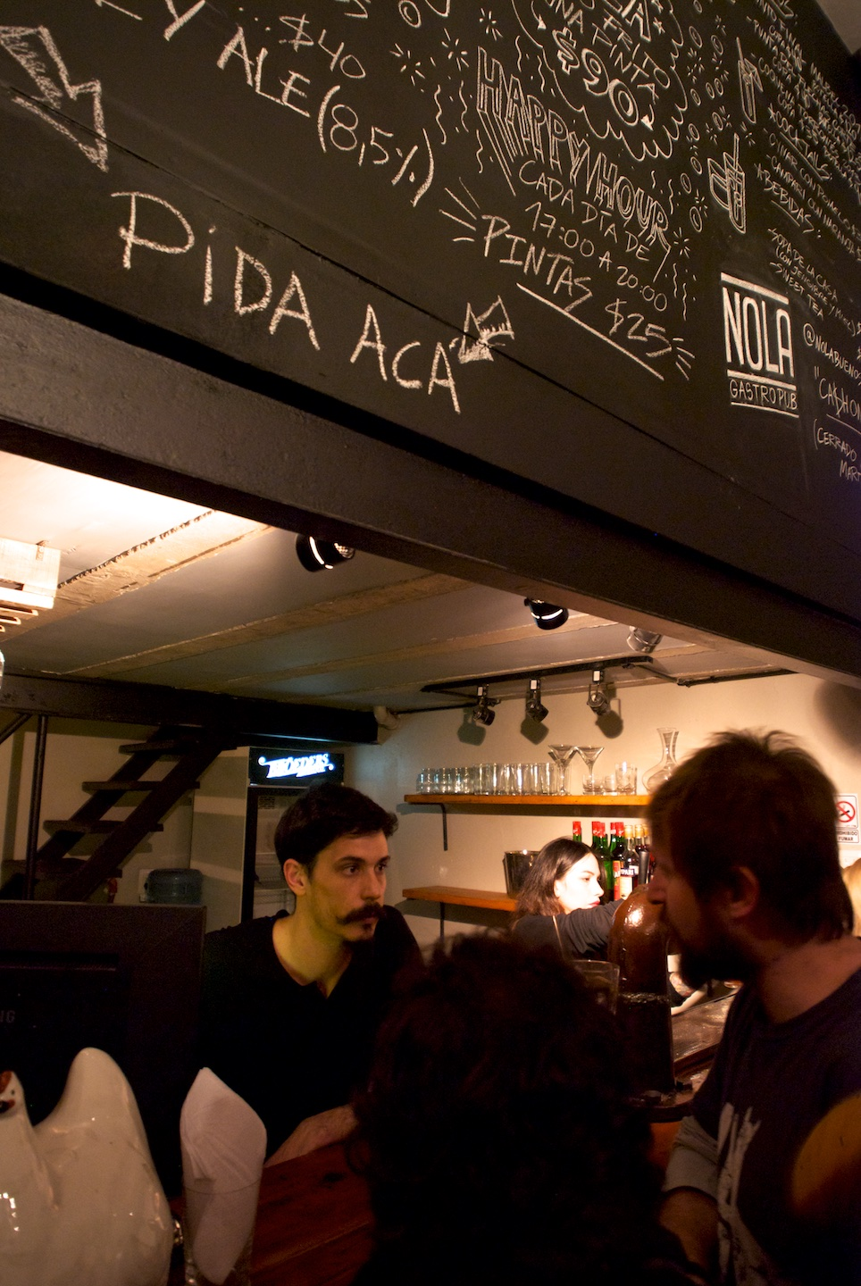 Pida aca for your craft beer and other drinks