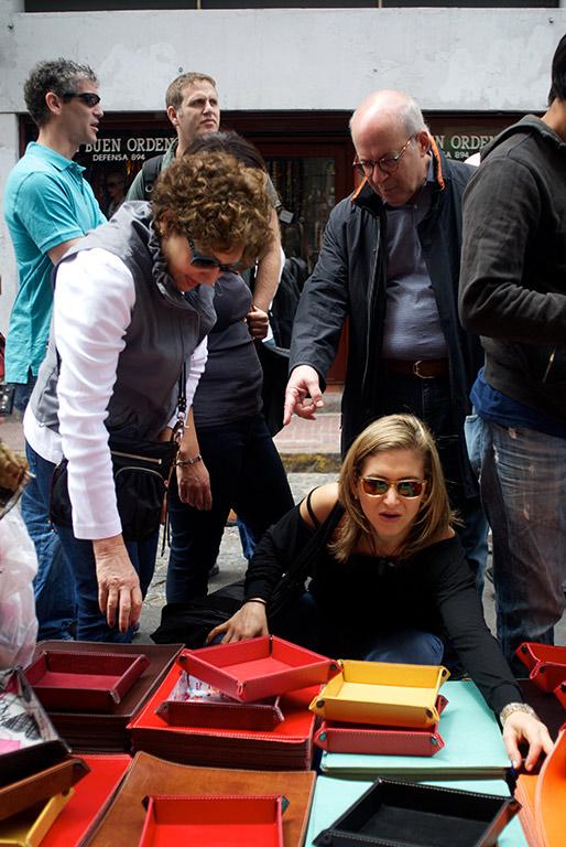 San Telmo Market tourists