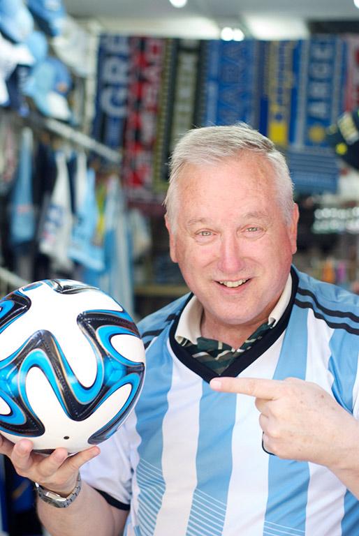Argentine Football tourist